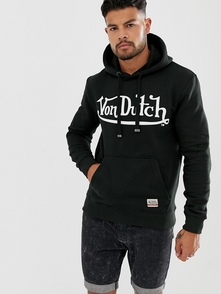 Von Dutch Hudi S Logotipom -chernyy 26269100