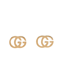 Gucci Gold Gg Tissue Stud Earrings 28202849
