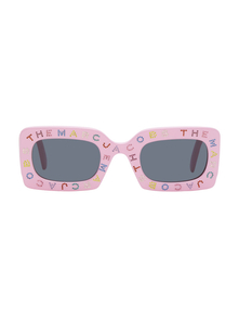 Marc Jacobs Pink The Logo Rectangular Sunglasses 29158479