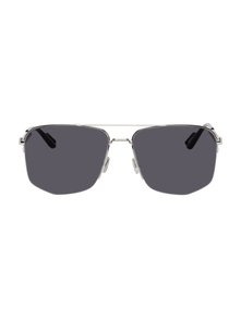 Black Dior180 Sunglasses Dior Homme. Купить за 27019 руб. - Aviator-style metal-frame sunglasses in silver-tone. Lenses in blue wi...