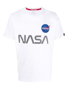 Alpha Industries Futbolka S Printom Nasa 178501