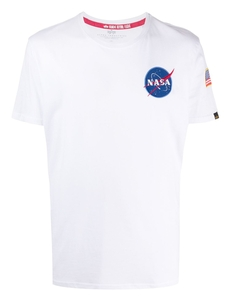 Alpha Industries Futbolka S Printom Nasa 176507