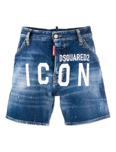 Dsquared2 Dzhinsovye Shorty Icon Dsq2 S Logotipom S79MU0001S30663