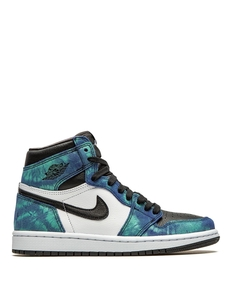 Jordan Krossovki Air 1 High 'tie-dye' CD0461100