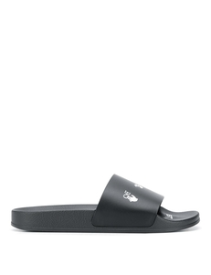 Off-white Logo-print Slide Sandals OMIA088E20FAB0021001