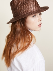 Lera Fedora Brixton. Купить за 970 руб. - Woven cord trim Shell: 100% straw Spot clean Imported, China Measureme...