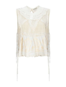 Dries Van Noten Top Bez Rukavov 12386761HA