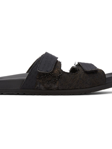 By Walid Black Yves Sandals 29921208