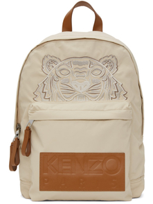 Kenzo Beige High Summer Capsule Collection Tiger Backpack 29404189