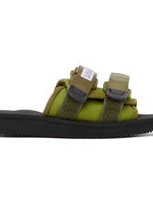 Suicoke Ssense Exclusive Green Moto-cab Sandals 29300797
