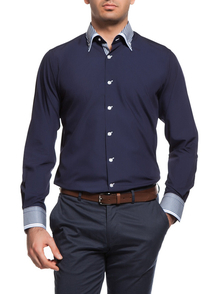 Dewberry Shirt 10500010G540_DARK_BLUE