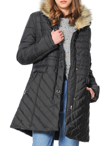 Dewberry Coat 1170001Z6138_BLACK