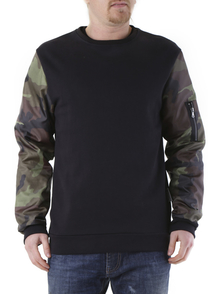 525 Sweatshirt M1435_NERO_000000