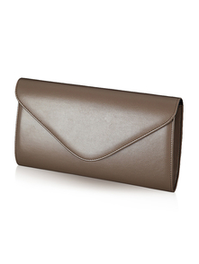 Felice Klatch FELICE_CLUTCH_BAG_F03I_NUT_BROWN BROWN